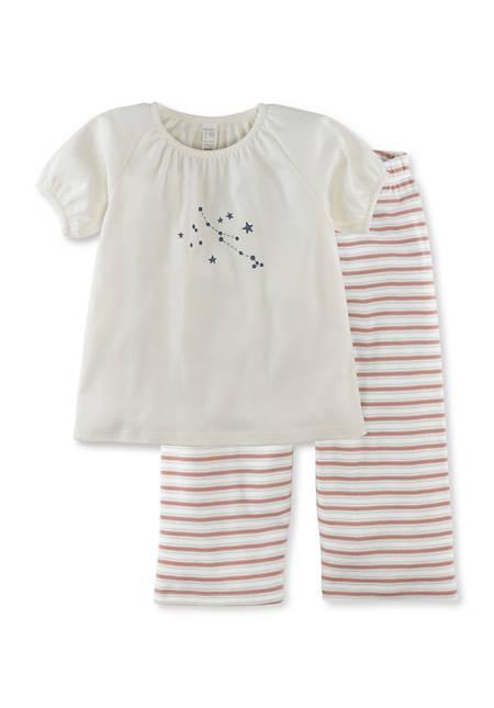 Mädchen Pyjama aus reiner Bio-Baumwolle