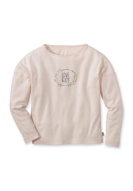 Mädchen Shirt aus reiner Bio-Baumwolle