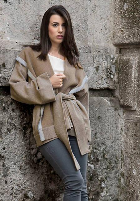 """Mantel """"Chiara"""" aus reiner Schurwolle"""
