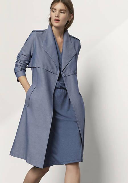 Mantel aus reiner Bio-Baumwolle