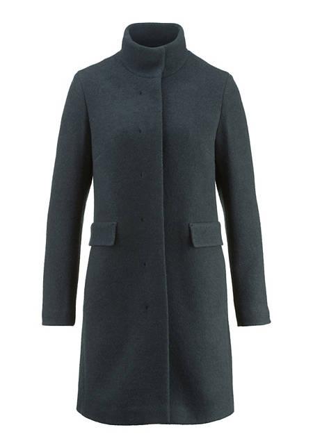 Mantel aus reiner Schurwolle