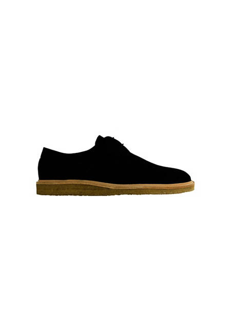 Maple / Black Suede
