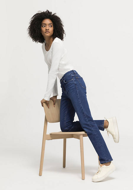 Marie straight fit jeans made of organic denim