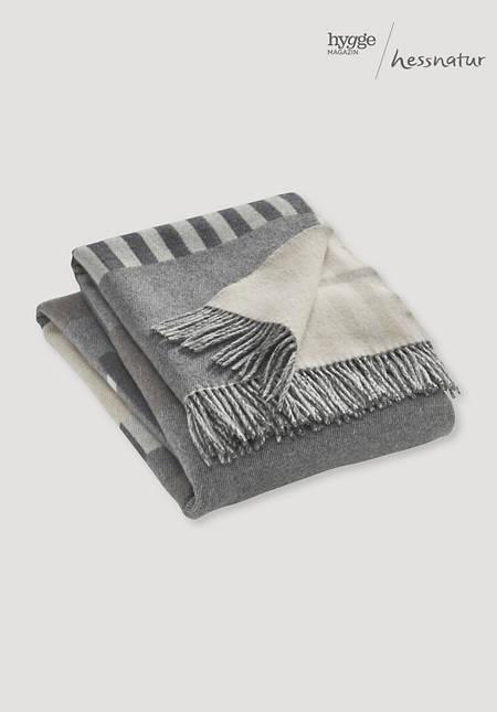 Merino plaid Marli made from pure merino wool