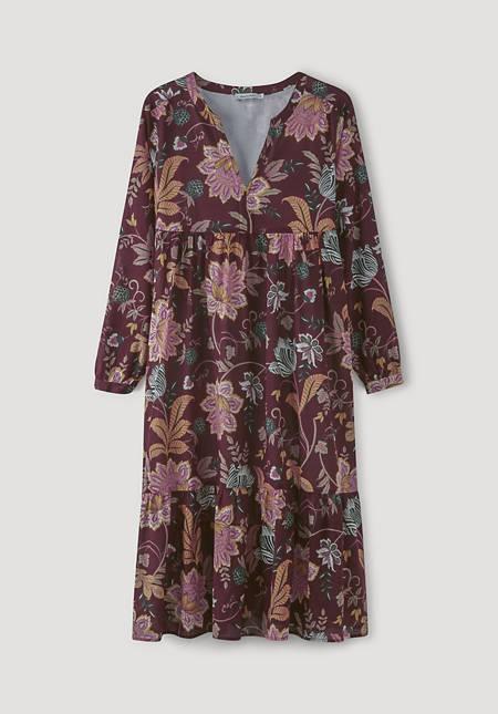 Midi dress made from pure organic cotton