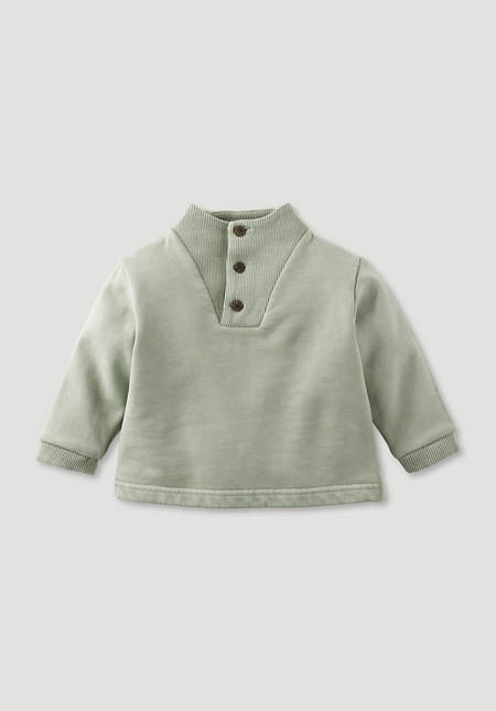Mineral Dye sweatshirt made from pure organic cotton