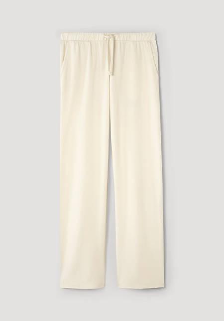 ModernNATURE sleep trousers made of pure organic cotton