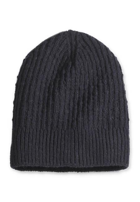 Mütze aus Alpaka mit Schurwolle