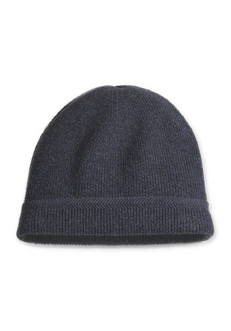 Mütze aus Schurwolle mit Yak und Bio-Baumwolle