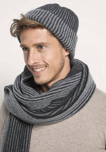 Mütze aus reiner Schurwolle