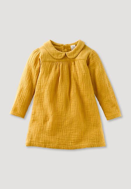 Muslin dress made of pure organic cotton