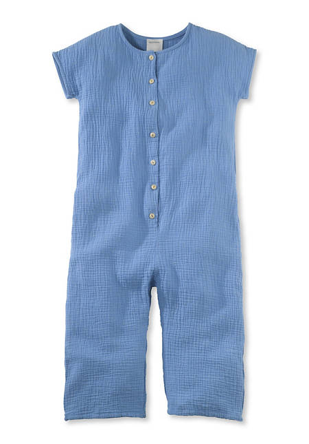 Muslin jumpsuit made from pure organic cotton