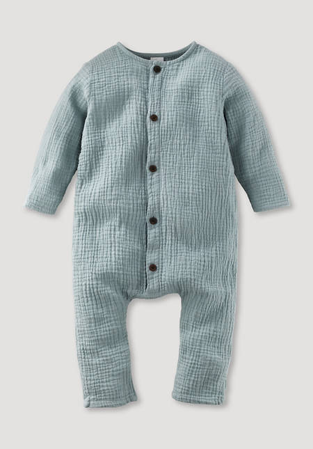Muslin overall made from pure organic cotton