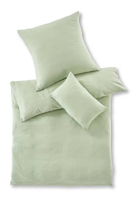 Musselin Bettwäsche aus reiner Bio-Baumwolle