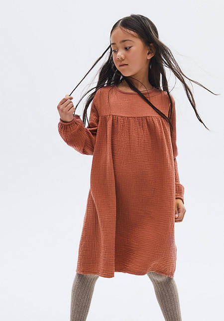 Musselin Kleid aus reiner Bio-Baumwolle