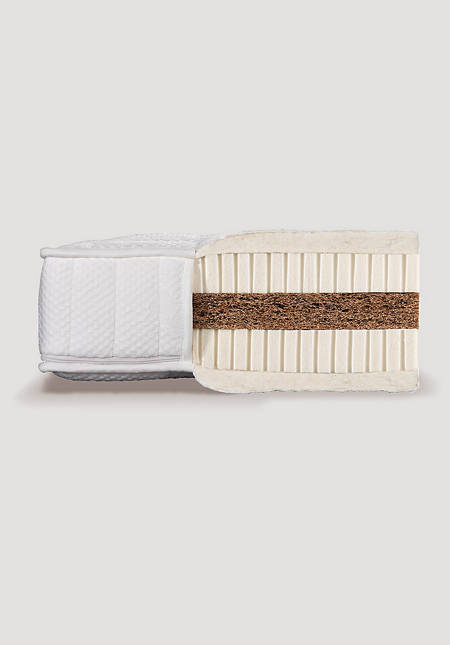 Natural latex mattress MEDIUM with coconut core
