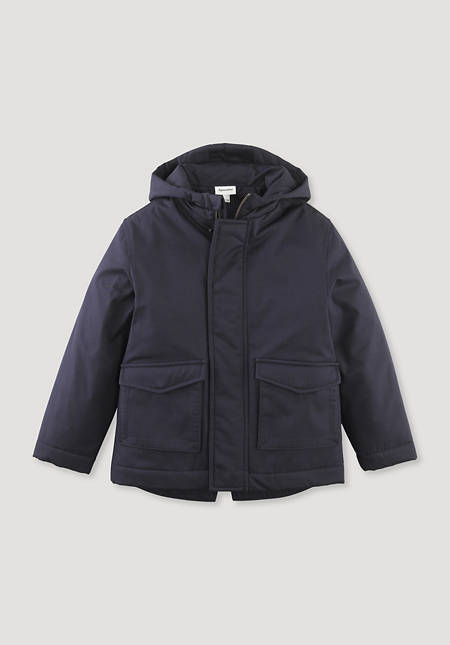 Nature Shell Parka made from pure organic cotton