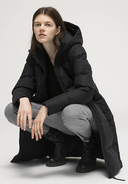 Nature Shell down coat made of pure organic cotton