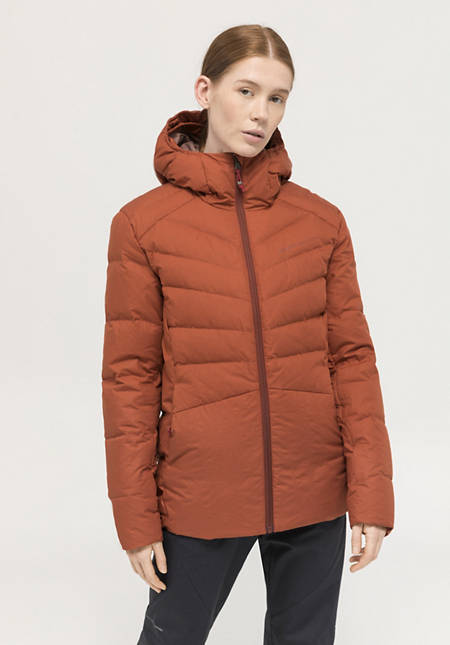 Nature Shell down jacket made of organic cotton with down