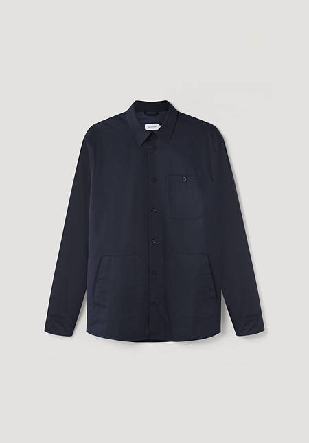 Nature Shell shirt jacket made from pure organic cotton