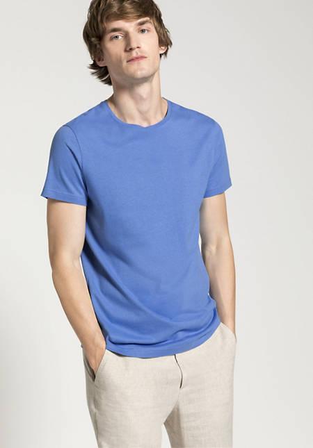 Organic cotton t-shirt with silk