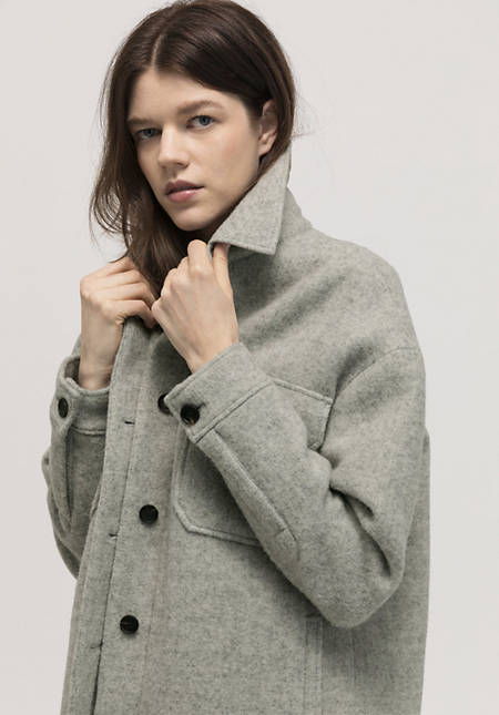 Overshirt Limited by Nature made of pure new wool