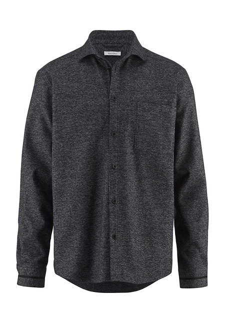 Overshirt loose fit made of pure organic cotton