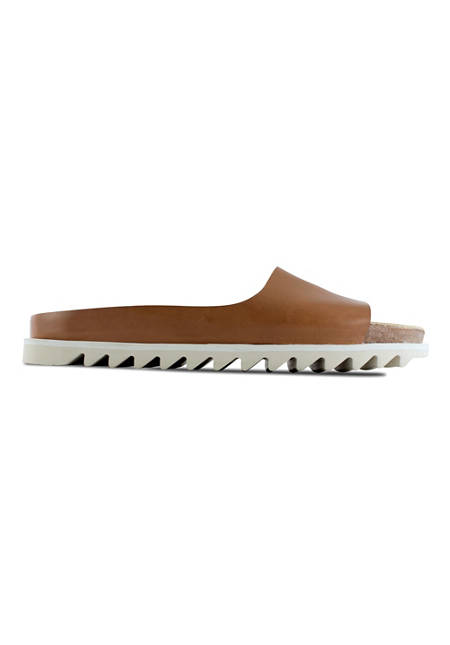 Palm Sandal / Bright Brown Leather