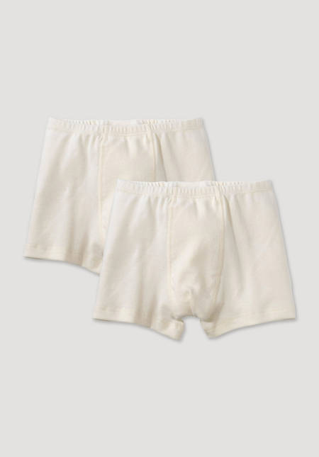Pants set of 2 made of pure organic cotton