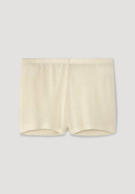 Panty aus reiner Bio-Merinowolle