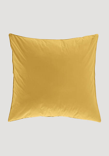 Percale pillowcase made from pure organic cotton