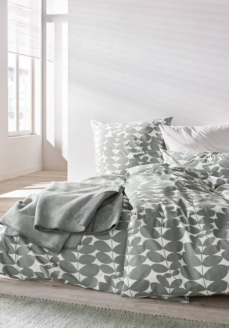 Perkal-Bettwäsche Follini aus reiner Bio-Baumwolle