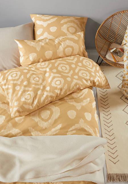 Perkal-Bettwäsche Sumatra aus reiner Bio-Baumwolle