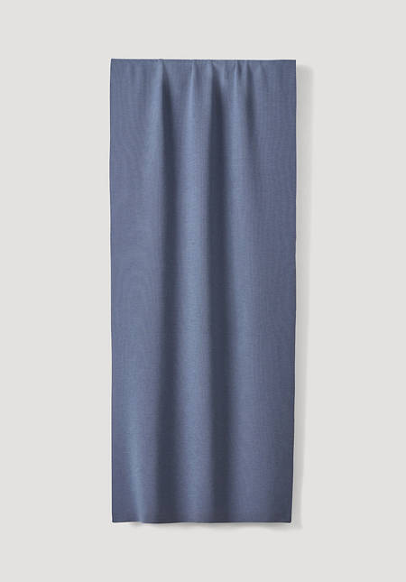Pflanzengefärbter Schal aus reiner Merinowolle