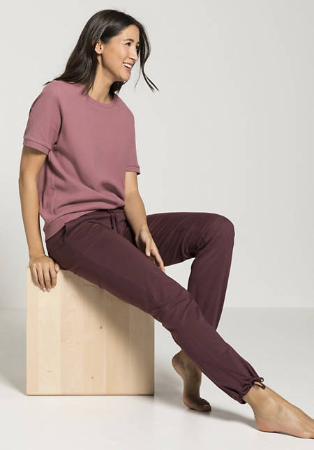 Piqué shirt made from pure organic cotton