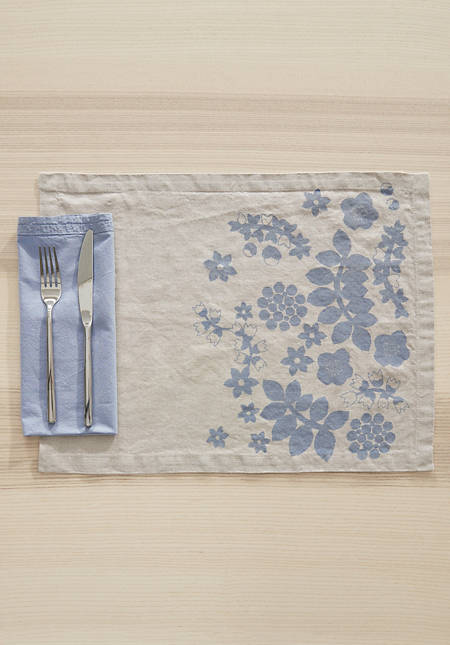 Placemat Leila made of pure linen