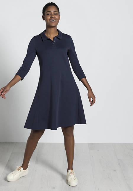 Polo-Kleid aus Bio-Baumwolle