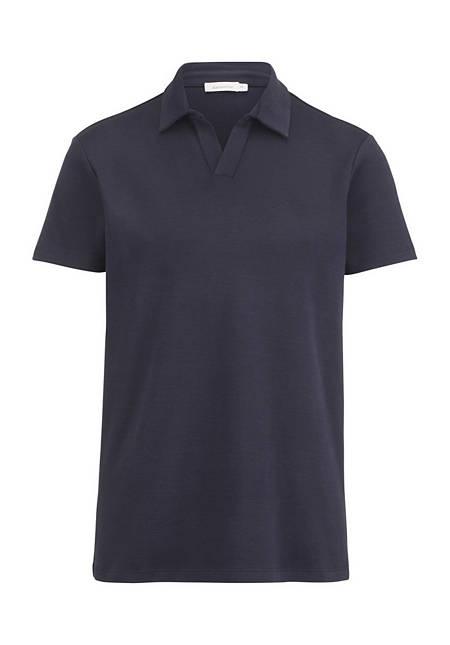 Polo-Shirt aus Bio-Baumwolle mit Kapok