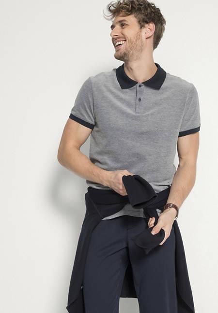 Polo aus reiner Bio-Baumwolle