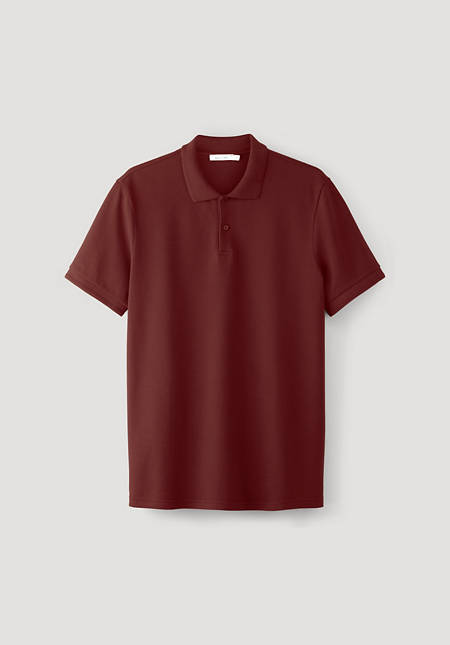 Polo shirt made from pure organic cotton
