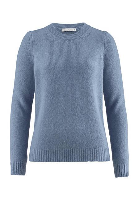 Pullover aus Alpaka mit Seide und Mohair