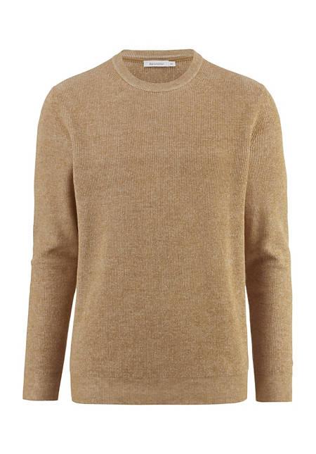 Pullover aus Bio-Baumwolle und Leinen