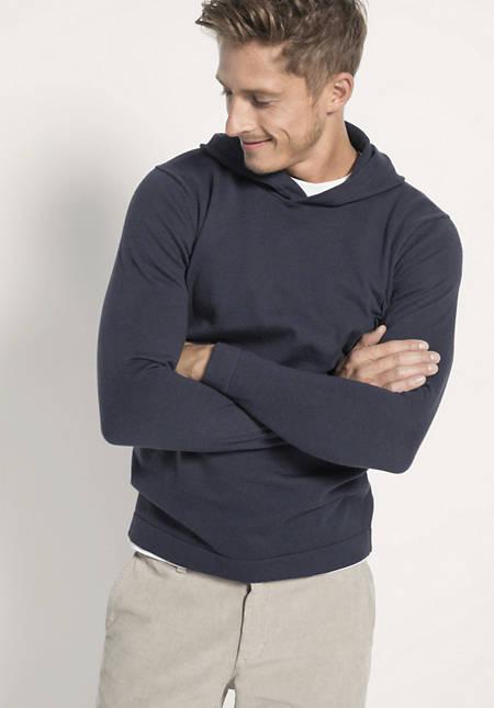Pullover aus Bio-Baumwolle und Yakwolle