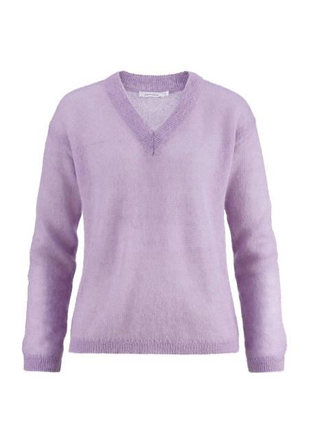 Pullover aus Mohair mit Seide
