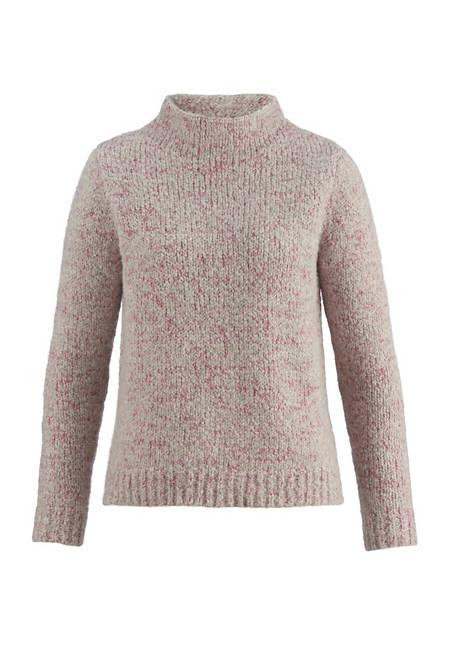 Pullover aus Schurwolle mit Alpaka und Bio-Baumwolle