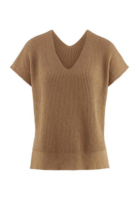Pullover aus farbig gewachsener Bio-Baumwolle