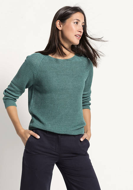 Pullover aus reinem Leinen