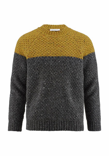 Pullover aus reiner Schurwolle