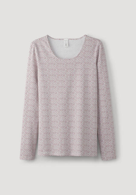 PurLux long-sleeved shirt made of organic cotton