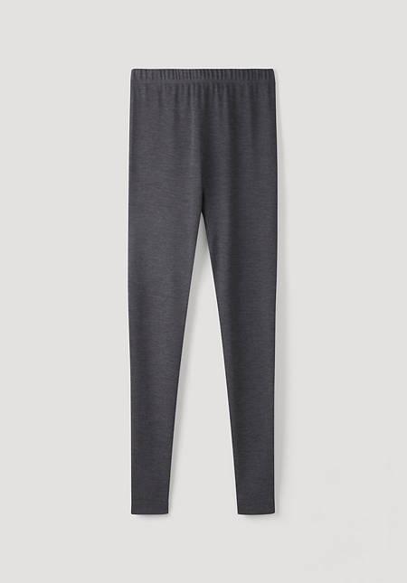 PureMIX long pants made of organic merino wool and silk